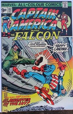 Captain America And The Falcon # 192, Bronze Age Clearance Classic.