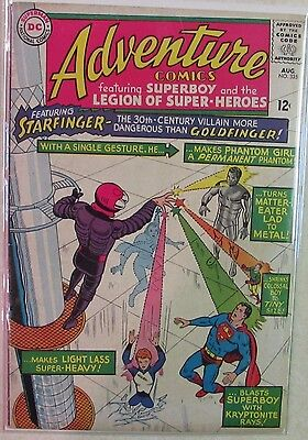 DC Comics - Adventure Comics - #335 - Silver Age -1960s - Superboy - Under Guide