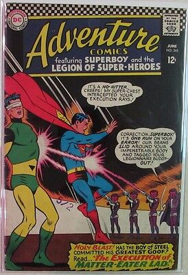 DC Comics - Adventure Comics - #345 - Silver Age -1960s - Superboy - Under Guide