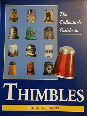 Collectible Thimble Value Guide Collector's Book