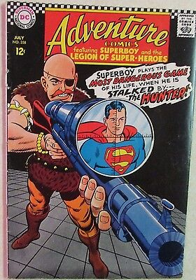 DC Comics - Adventure Comics - #358 - Silver Age -1960s - Superboy - Under Guide