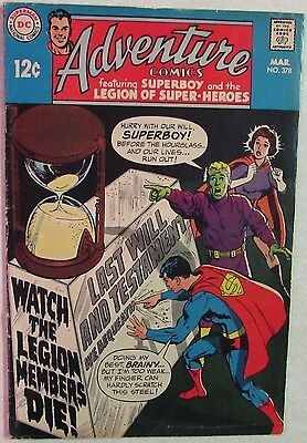 DC Comics - Adventure Comics - #378 - Silver Age -1960s - Superboy - Under Guide