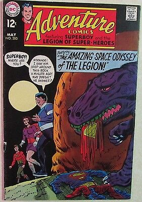 DC Comics - Adventure Comics - #380 - Silver Age -1960s - Superboy - Under Guide