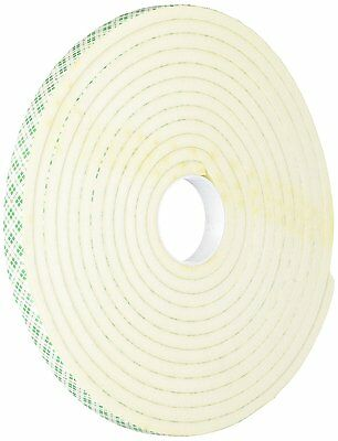 Tapecase 1/2-5-4004W 4004 0.5In X 5Yd White Foam Tape
