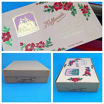 Vintage HOFFMAN'S CHOCOLATE BOX Los Angeles Excellent Condition Candy Co.