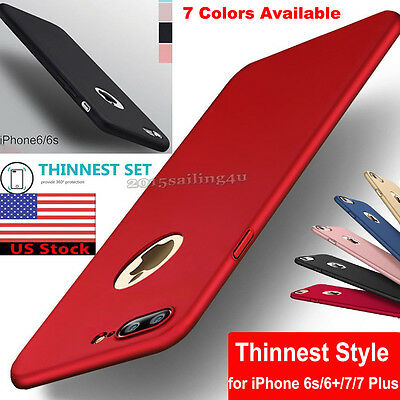Slim Luxury Silicone Ultra-thin TPU Back Case Cover for Apple iPhone 7 Plus 6/6s