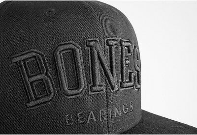 Bones Bearings Emphasis Team Only Skateboard Snapback Hat