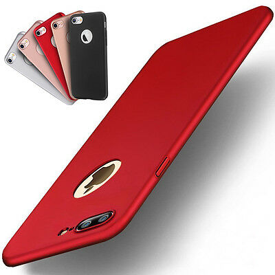 Ultra-thin Slim Shockproof Soft TPU Case Gel Rubber Cover For iPhone 8 7 6s Plus