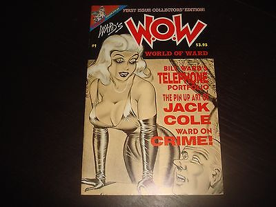 Bill Ward's WOW WORLD OF WARD #1 Torchy Fantagraphics Adult Comix 1990 VF/NM