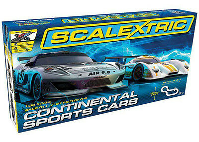 Scalextric 1:32 Scale C1319 Continental Sports Cars Set *new*