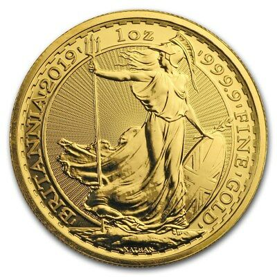1 oz Gold Britannia 2019 - 100 Pounds Großbritannien - Goldmünze 999,9