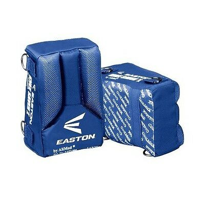 New Easton Baseball Softball Catchers Knee Savers 2 II 4 Sided Royal Blue L/XL