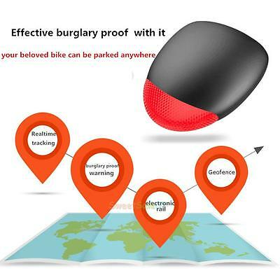 Bicycle Intelligent GPS Wifi Locator Vibration Alarm Tracker for iPhone /Samsung