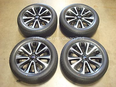 18 2017 Subaru Forester Xt Wheels Rims Oem Factory Tires Touring Outback