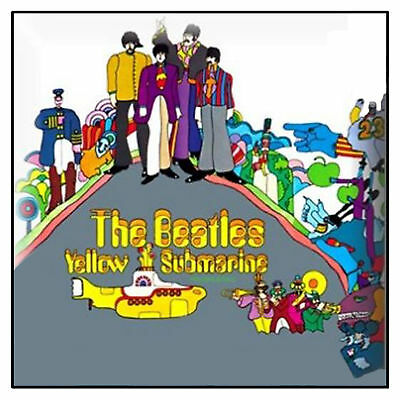 The Beatles Yellow Submarine Album new Official Metal Pin badge One Size