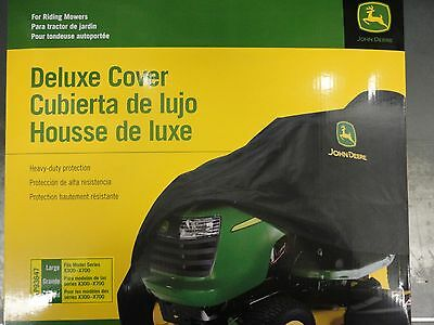 John Deere Genuine OEM Large Tractor Cover LP93647 X300 X500 X700 series