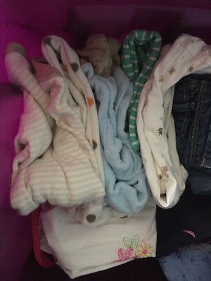 Newborn boys or unisex Carter's++ sleepers and outfits. pajamas. EUC unless *.
