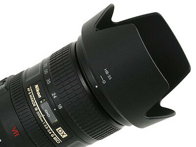 Replacement HB-35 HB35 Petal Lens Hood for NIKON AF 18-200mm f/3.5-5.6 UK SELLER