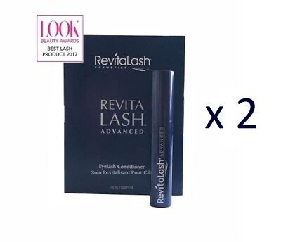 2x REVITALASH Advanced Conditioner 0,75 x 2 = 1,5 ml Eyelash WIMPERNSERUM sample