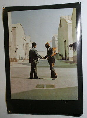 Pink Floyd – Wish You Were Here Original 1975 Poster – By Anabas