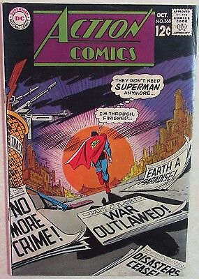 DC Comics - Action Comics - Issue #368 - Silver Age 1960s - Superman