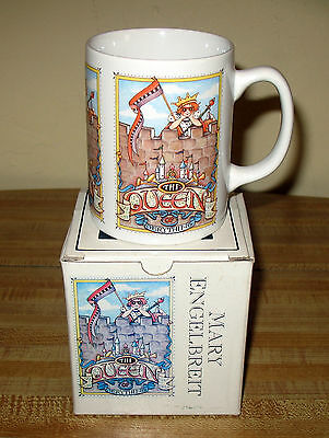 "Mary Engelbreit ME Ink Mug *The Queen of Everything* ""New"" in Box"