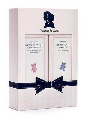 Noodle And Boo Newborn Gift Set.  super soft lotion & 2-in-1 new born