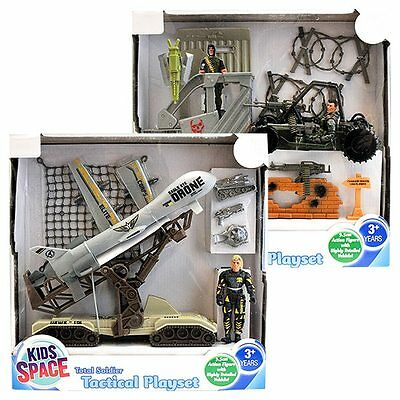 NEW Kids Space Total Soldier Tactical Playset Assorted