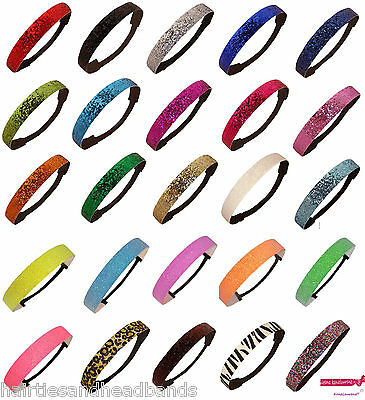 50 Glitter Headband Sports Softball Sparkly Headbands Wholesale Team Packs Lot