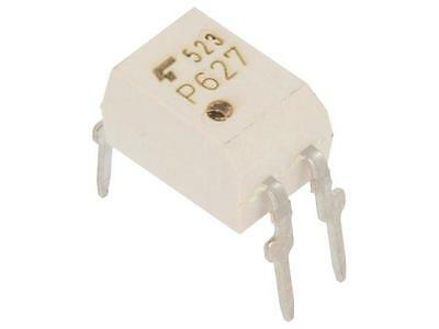 4x TLP627F Optocoupler THT Channels1 Out transistor Uinsul5kV DIP4 TLP627(F)