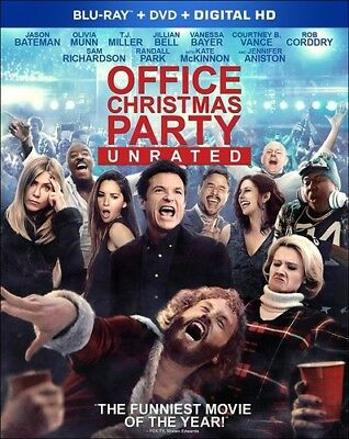 Office Christmas Party [New Blu-ray] With DVD, Widescreen, 2 Pack, Ac-3/Dolby