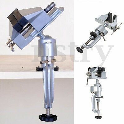 Portable 75mm 360° Swivel Table Work Bench Vice Die Cast Vise Clamp Repair Tool