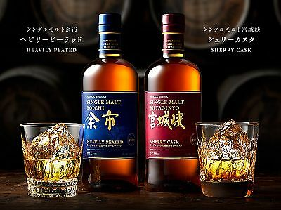 Nikka Yoichi Heavily Peated & Miyagikyo Sherry Cask Single Malt Japanese Whisky