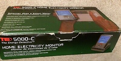 Ted 5000-C Energy Detective Home Electricity Monitor  Untested
