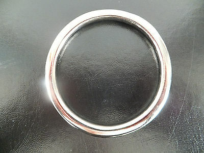 "Heavy Duty [ 2.5""  - I/D] NICKEL PLATED / Solid Cast Brass O Ring"