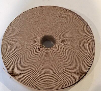 "1 1/4"" Wide Nude Colored Elastic Sold as Roll Of 36 Yards"