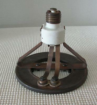 Antique SCREW IN RING SOCKET HEATER CHROMALOX HEATING ELEMENT 115V 750W RARE
