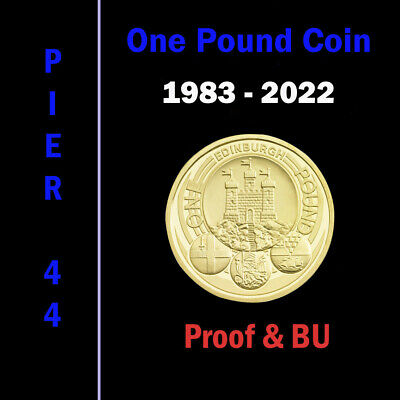 1983-2019 UK £1 One Pound Coins  PROOF & BU Brilliant Uncirculated - Select Date