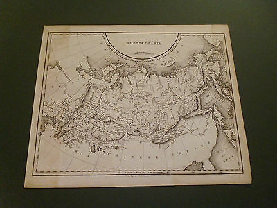 100% Original Russia In Asia  Map By Fullarton C1845 Vgc Free Postage