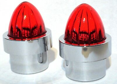 """bumper guide top(2) watermelon red plastic fits 1"""" threaded pipe replacement"""