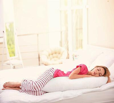 Body Pillow 100% Cotton Cover Soft Filling Ultra Soft Utopia Bedding