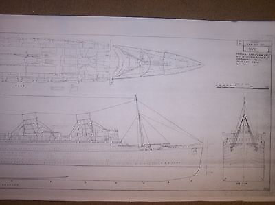 H M S QUEEN MARY ship boat model boat plan