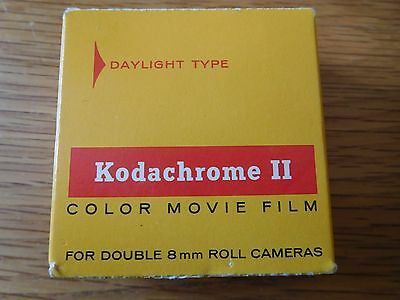 Kodachrome II Color Movie Film Double 8mm Roll Daylight Type Expired date