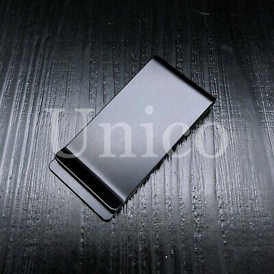 Stainless Steel Slim Money Clip Cash Credit Card Metal Pocket Holder Wallet Man