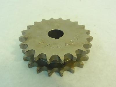 """163953 Old-Stock, Martin DS40A20H 3/4 Double Sprocket #40, 20T, 3/4"""" ID"""