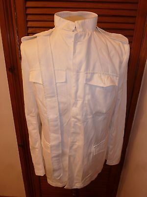 Army Mans No.3 White Cotton Dress Jacket Various Sizes British Army Issue