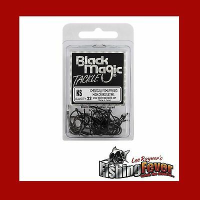 Black Magic KS Hooks (Economy Pack) Brand New At FISHING FEVER