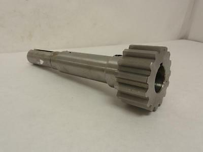 "162021 Old-Stock, Dings L70220-2 Geared Shaft, Keyed, 15T, 1-1/8"" OD to 1-3/8"" O"