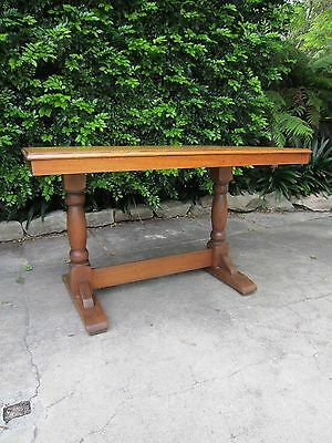 Arts and Crafts Oak Refectory Table c.1910