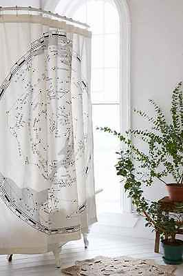 Urban Outfitters Magical Thinking Constellation Map Shower Curtain